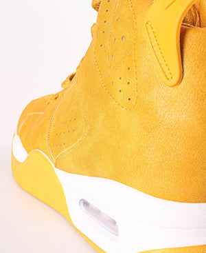 Ladies' Slash Sneakers  - Mustard