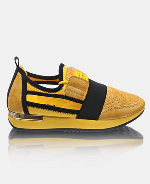 Ladies' Storm Sneakers - Mustard