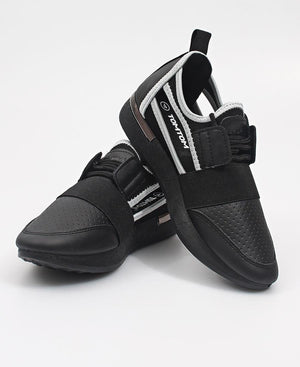 Ladies' Storm Sneakers - Black-Grey