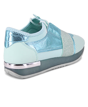 Ladies' Storm Jelly Sneakers - Light Blue