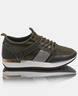 Ladies' Storm Sneakers - Olive