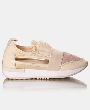 Ladies' Storm Pastel Sneakers - Nude