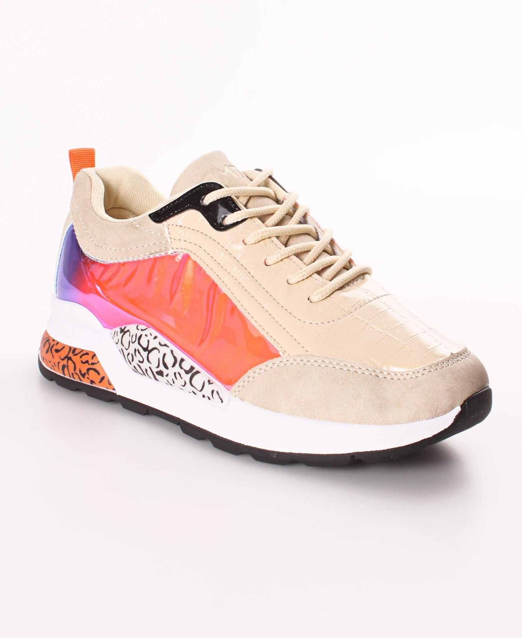 Ladies' Wild Sneakers - Nude