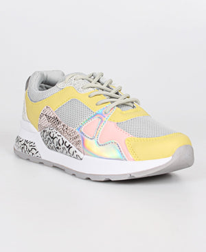 Ladies' Wild Sneakers - Grey