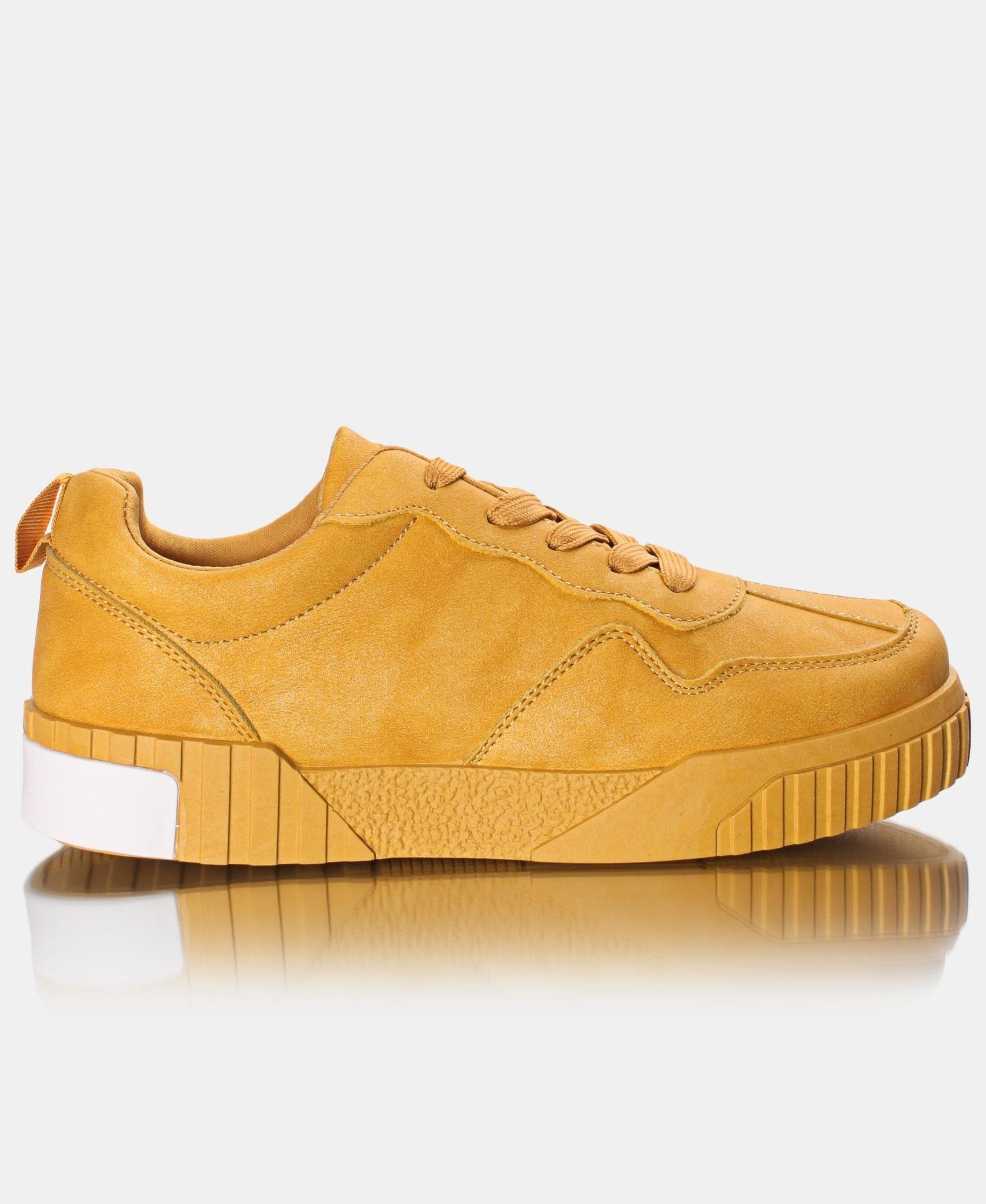 Ladies' Zest Sneakers - Mustard