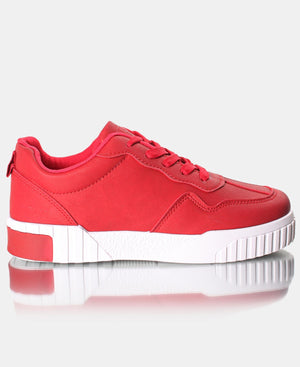 Ladies' Zest Sneakers - Red