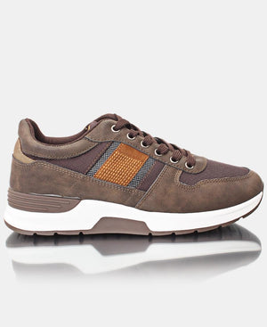 Men's Casual Sneakers - Choc