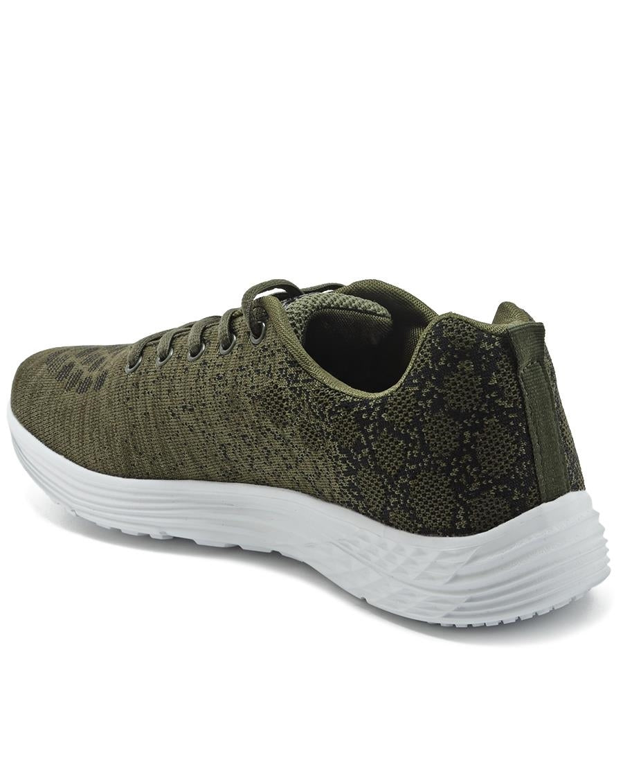 Casual Sneakers - Olive