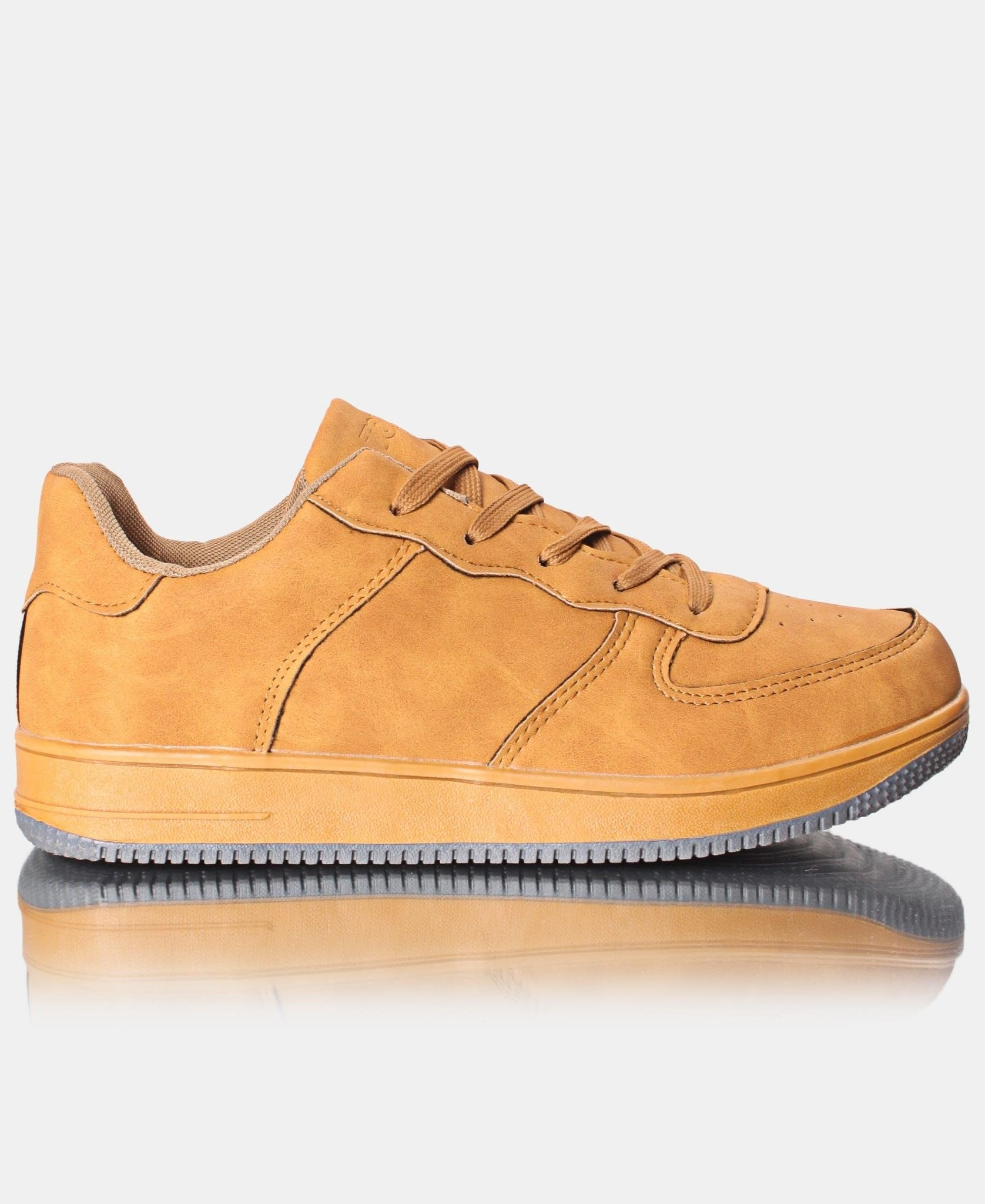 Men's Air Solid Sneakers - Tan