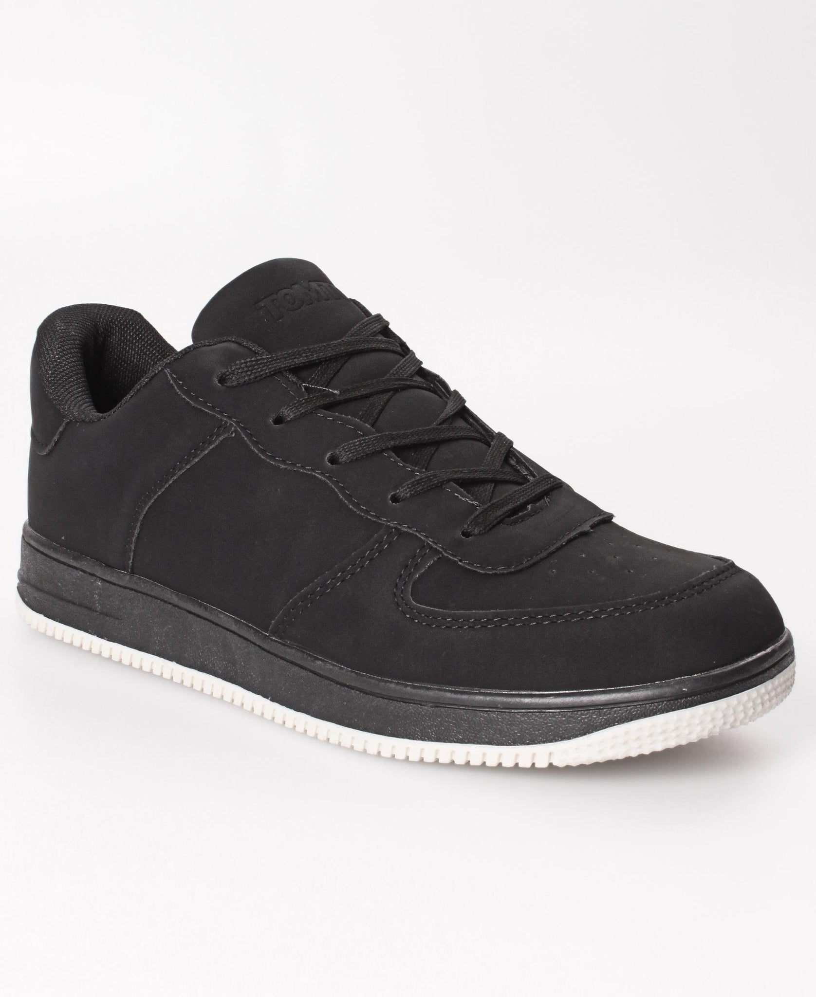 Men's Air Solid Sneakers - Black