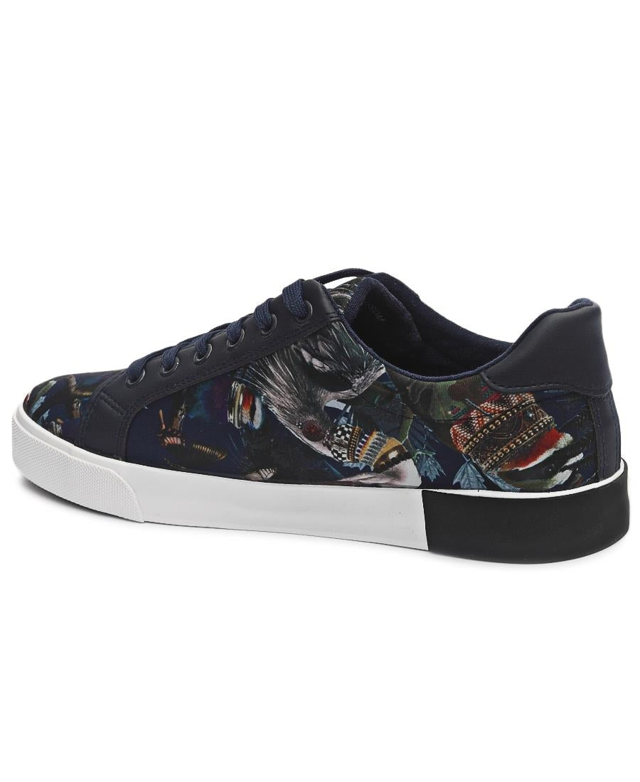 Men's Blossom Sneakers - Navy