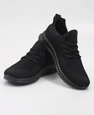 Men's Flye 4 Sneakers - Black