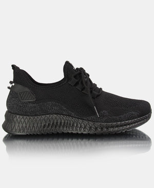 Men's Flye Sneakers - Black