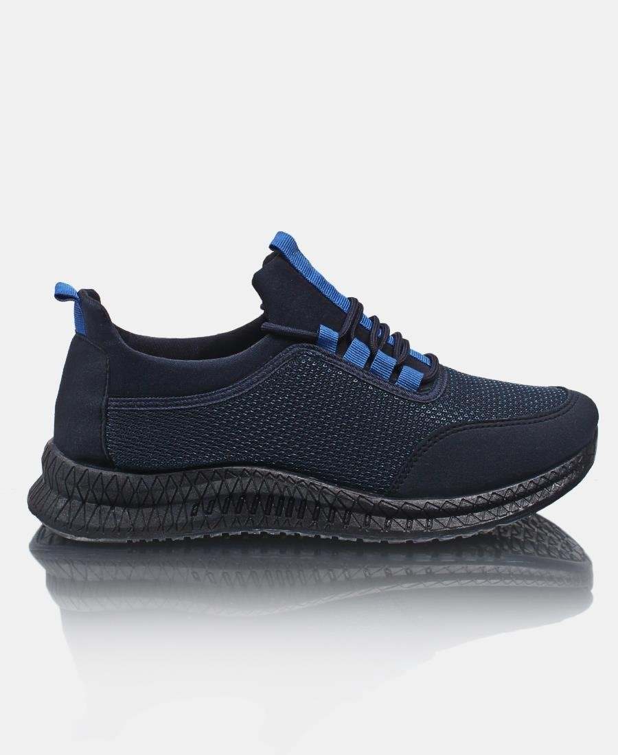 Men's Flye Stitch Sneakers - Navy