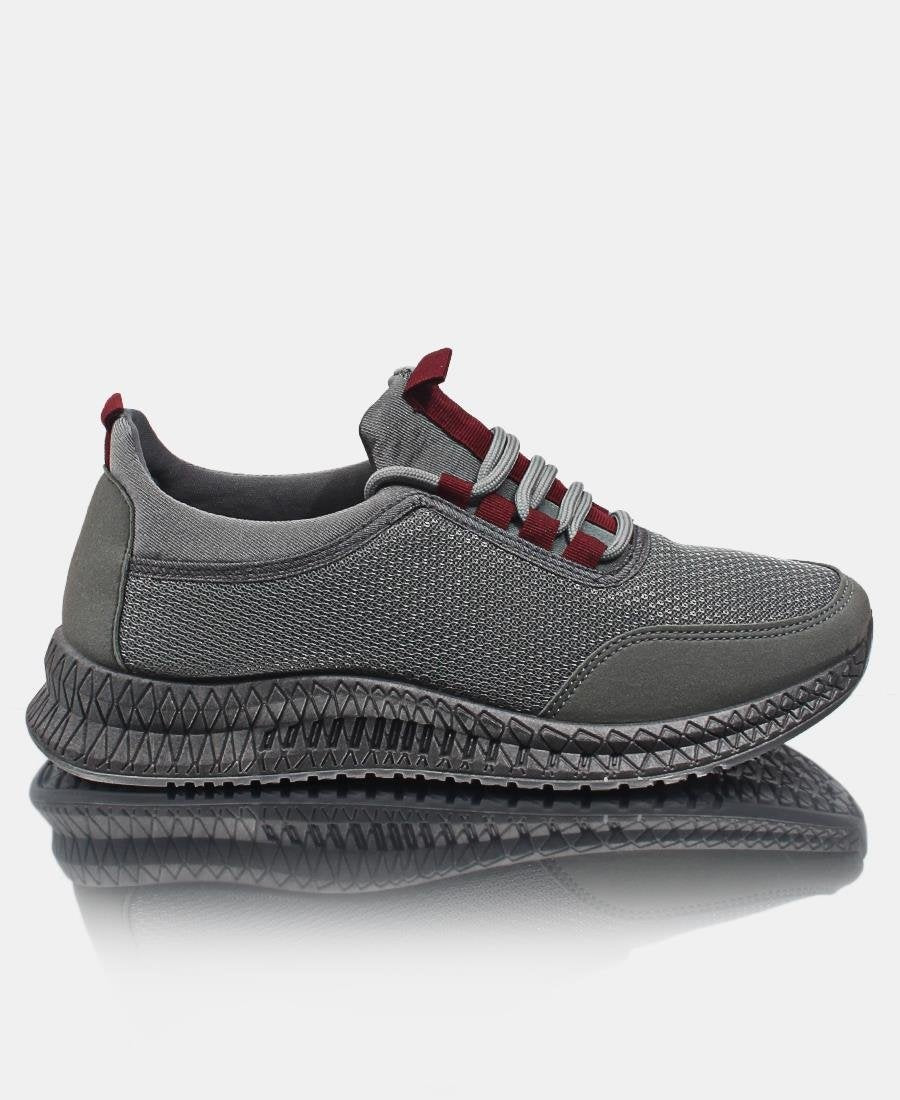 Men's Flye Stitch Sneakers - Charcoal