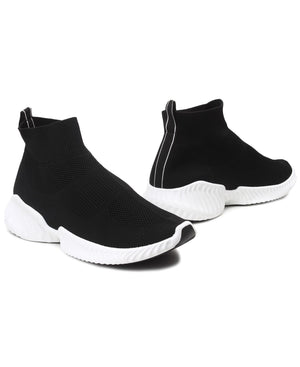 Men's Leap Boot Sneakers - Black