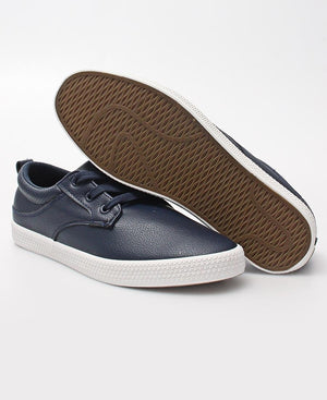 Men's Light Back Punch Sneakers - Navy