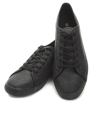 Men's Light Basic Sneakers - Black