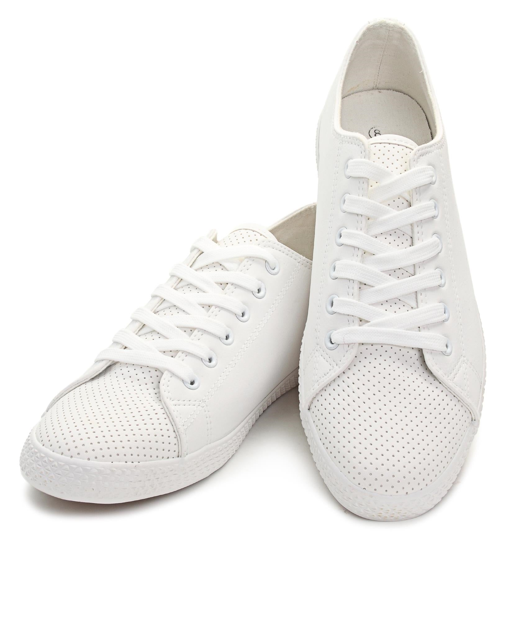 Men's Light Basic Sneakers - White