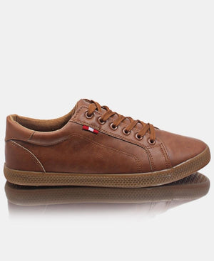 Men's Light Low Sneakers - Tan