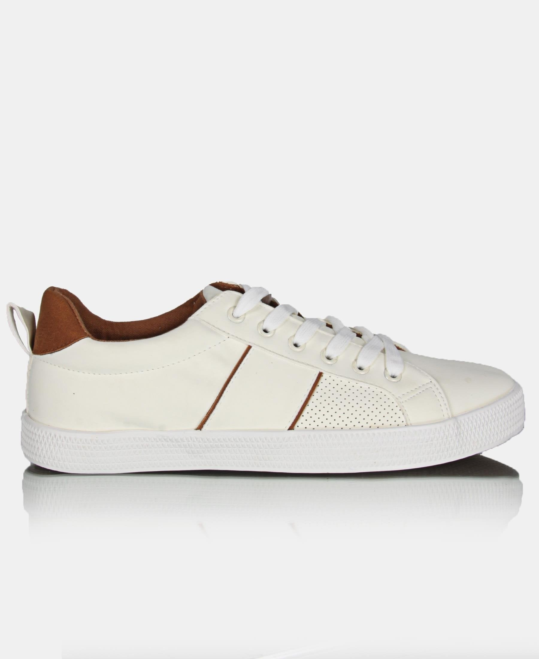 Men's Light Stripe Update Sneakers - White