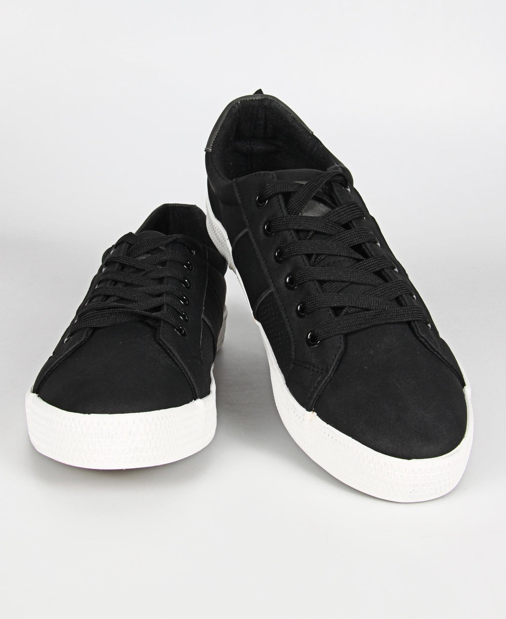 Men's Light Stripe Update Sneakers - Black