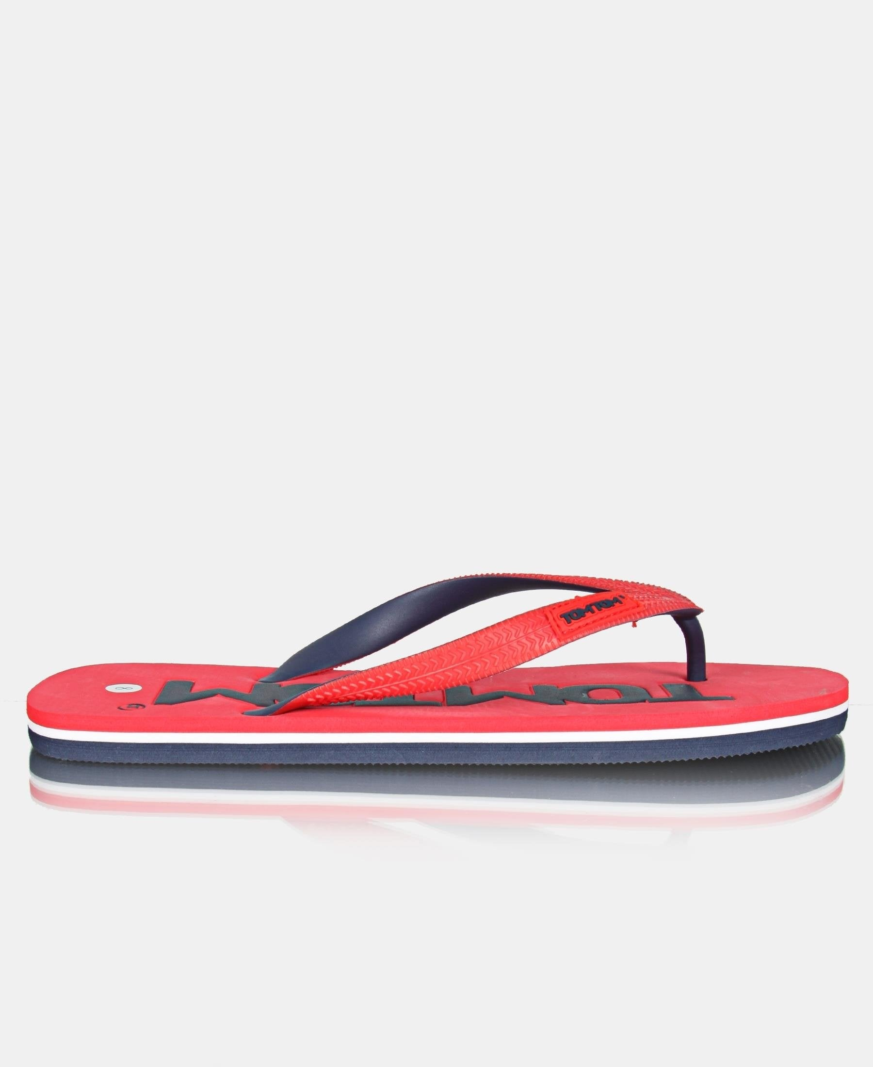 Men's Roller Sandals - Red-Navy