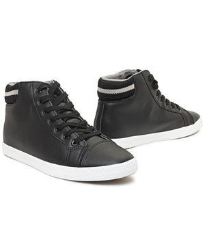 Men's Superman High Sneakers - Black
