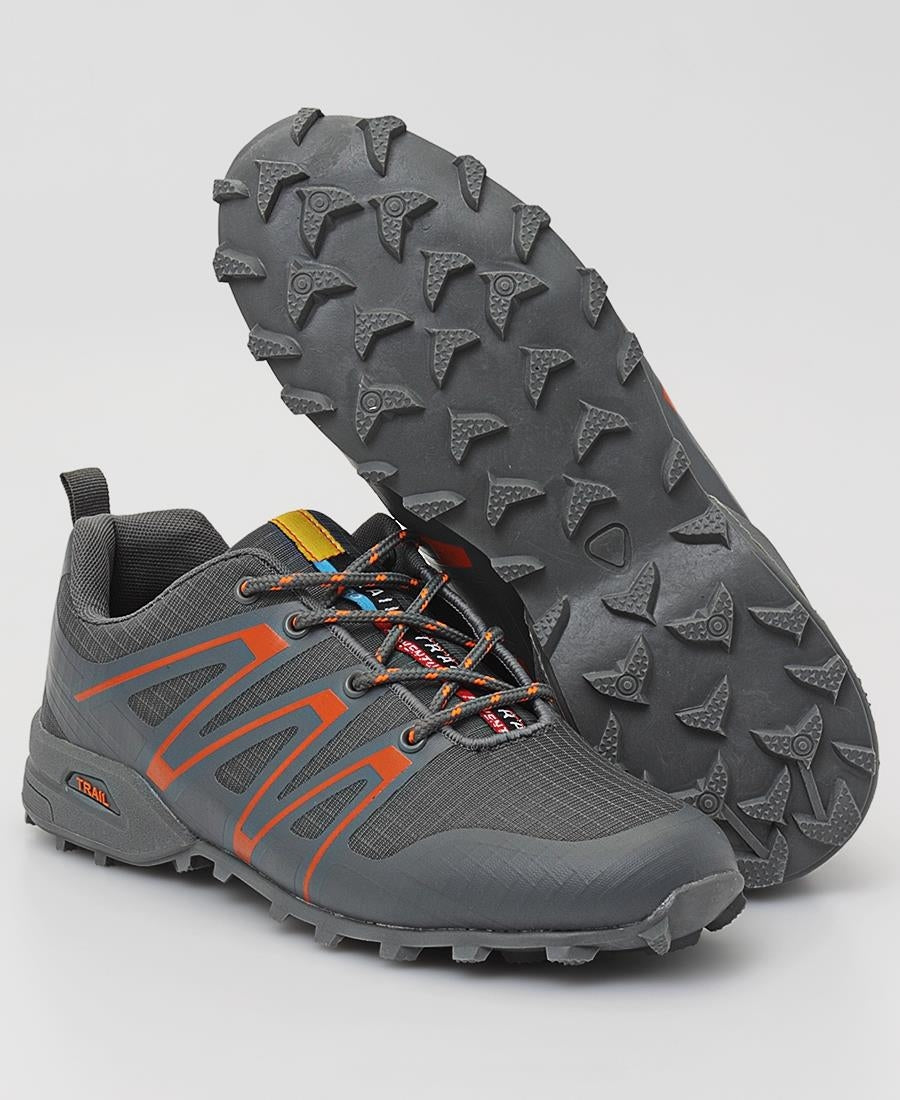 Men's Trail Sneakers - Grey