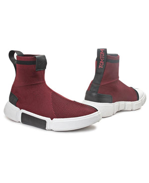 Men's Verge Sneakers - Burgundy