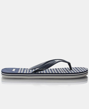 Wave Spots Slipper - Navy