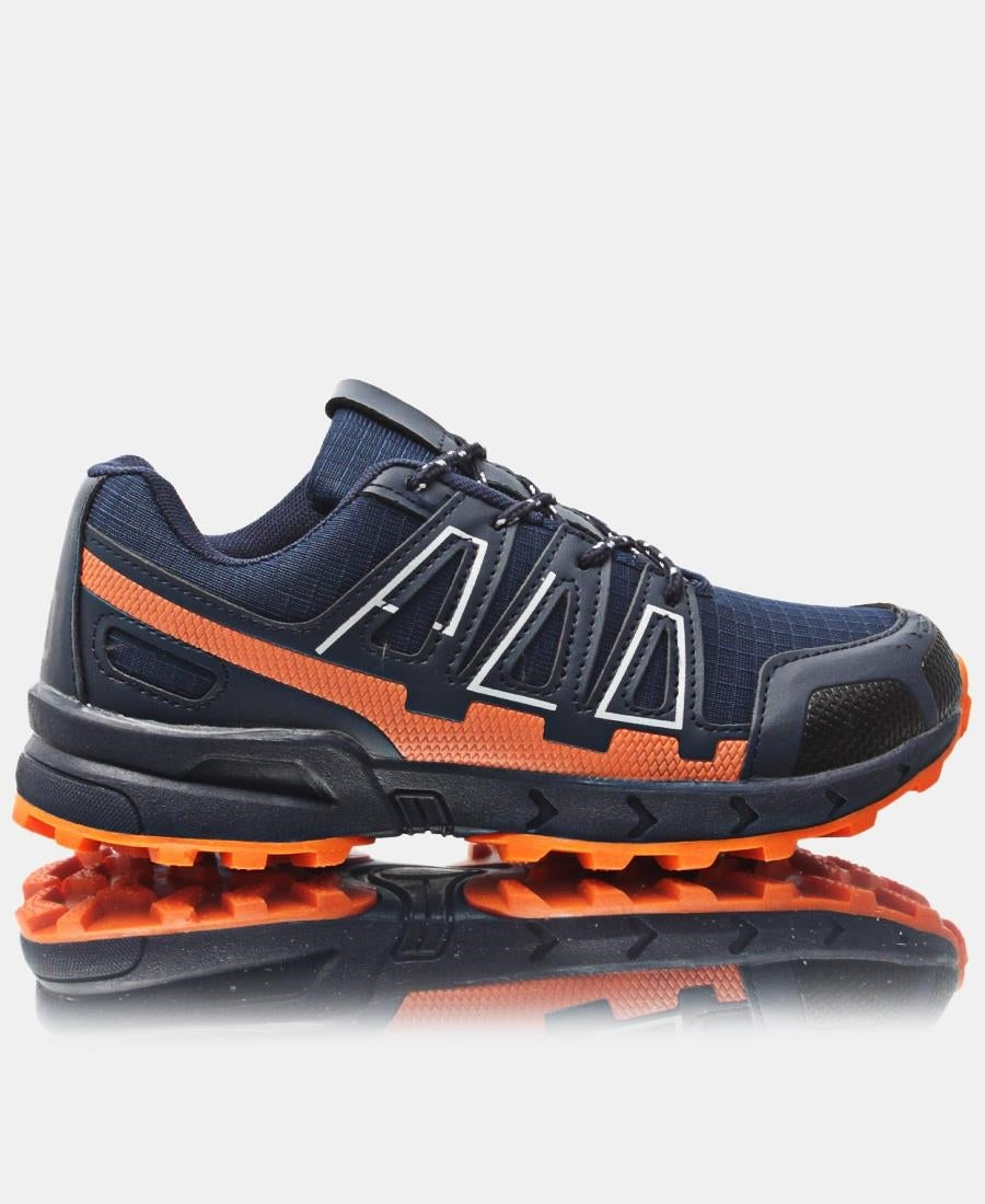 Youth Hiker Sneakers - Navy
