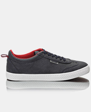 Youth Light Wing Sneakers - Navy-White