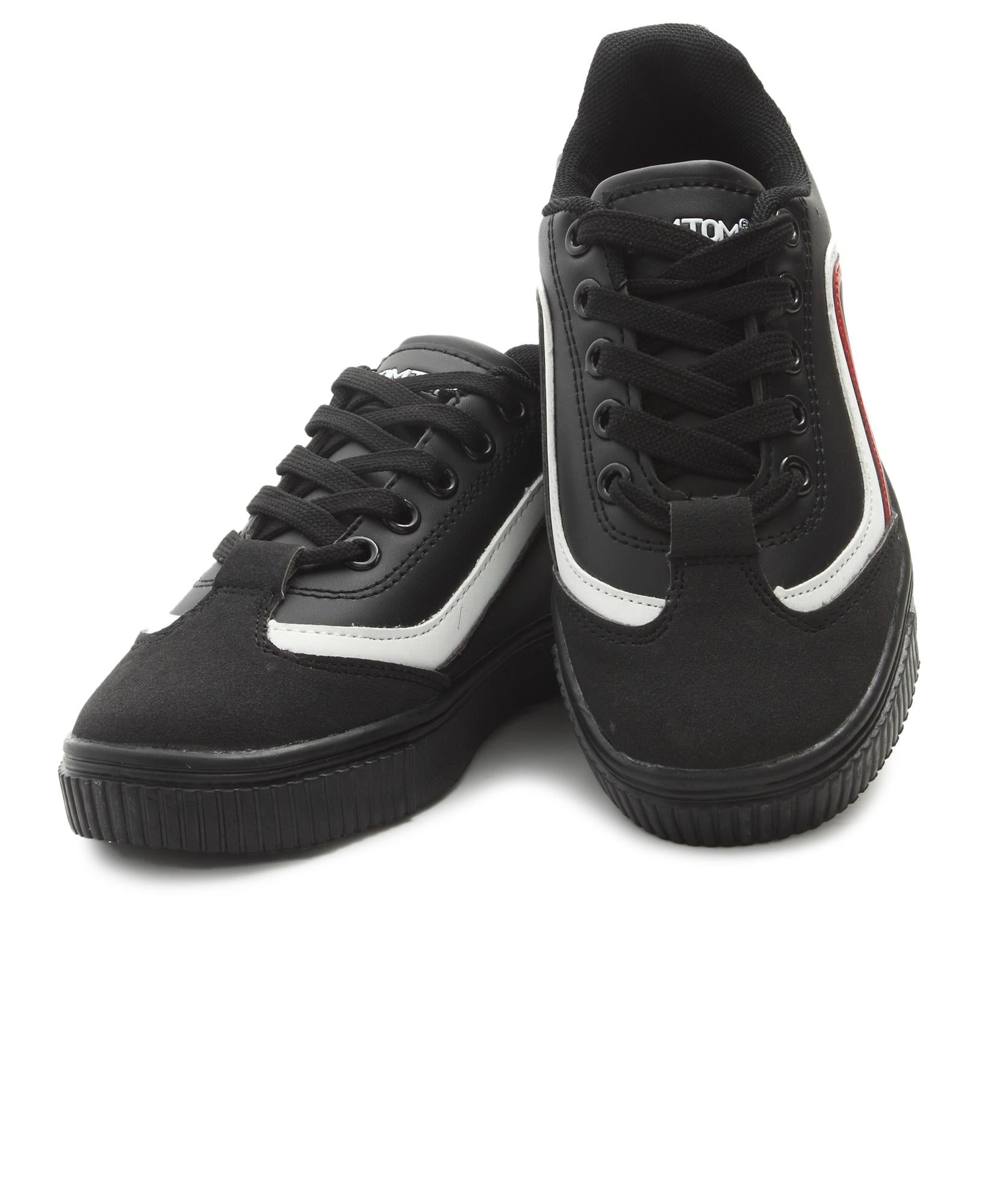 Youth Smooth Sneakers - Black
