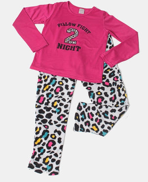 Kids Cerise Girls Pyjama Set - Purple