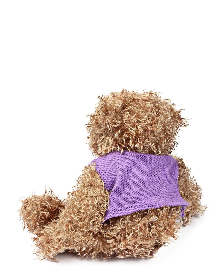 Stuffed Plush Teddy Bear - Purple