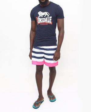 Men's Beach Shorts - Pink