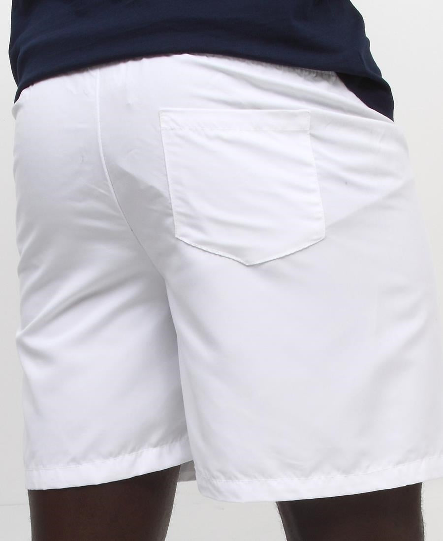 Men's Beach Shorts - White