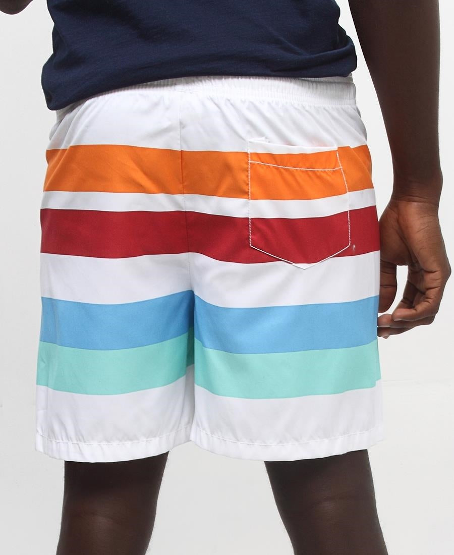 Men's Beach Shorts - Orange