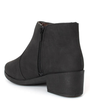 Ladies' Ankle Boots - Black