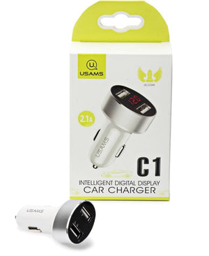 Car Charger - White