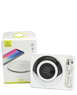 Iphone And Samsung Wireless Charger - White