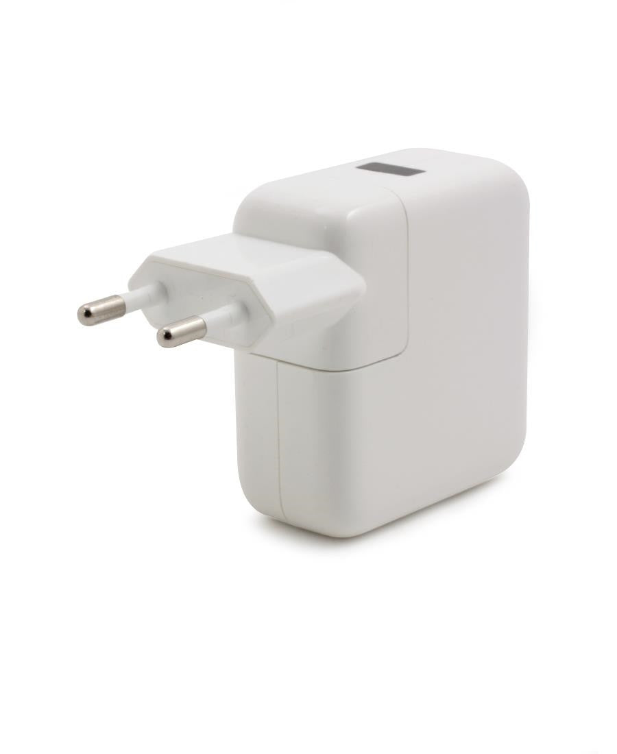 USB Single Port Power Adapter  - White
