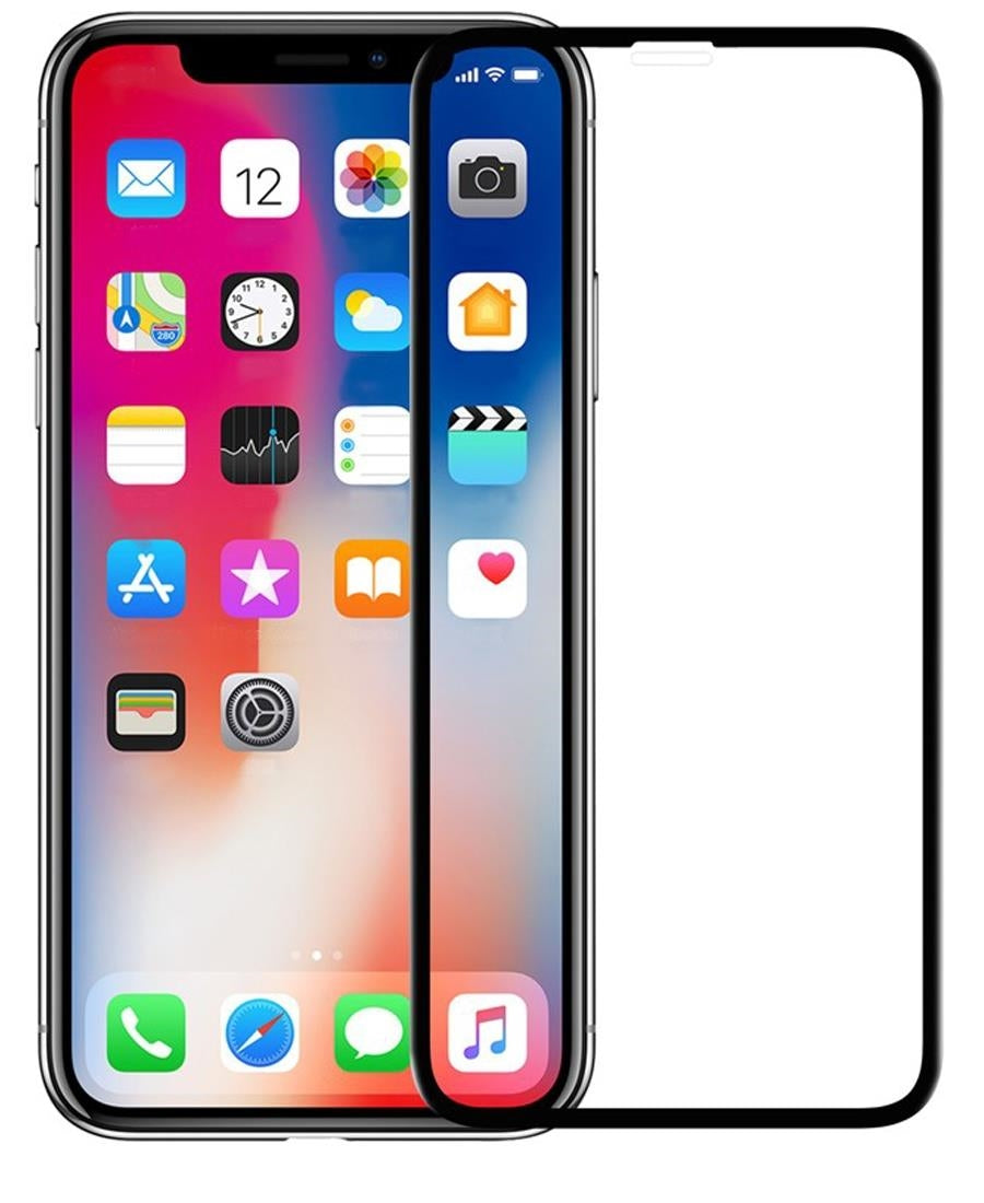 Iphone X Screen Guard - Black