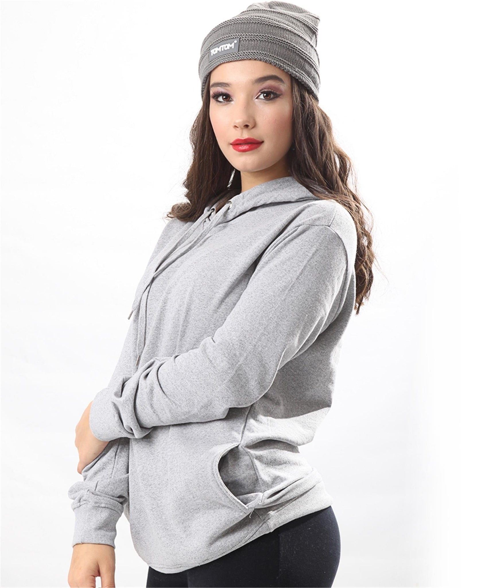 Unisex Hoody Jacket - Grey