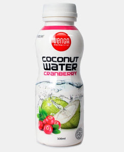 Cranberry Flavoured Coconut Water 330ml - White