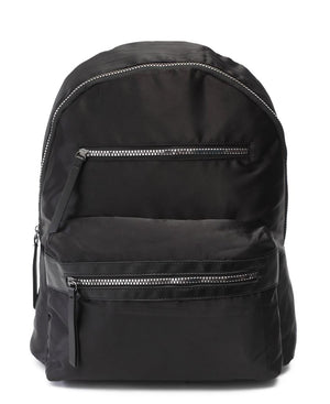 Satin Backpack - Black
