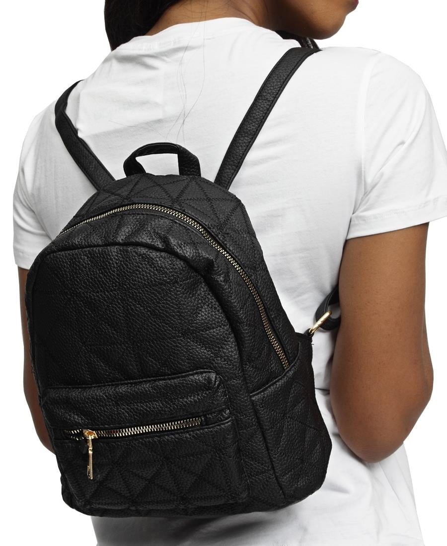 Embroided Backpack - Black