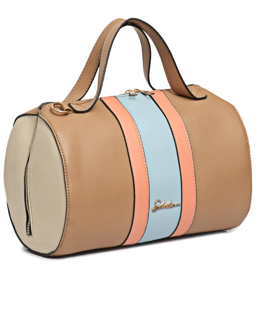 Barrel Bag - Camel