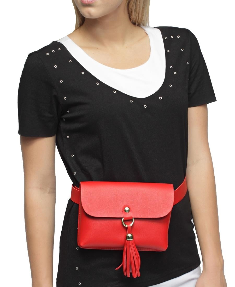 Moon Bag - Red